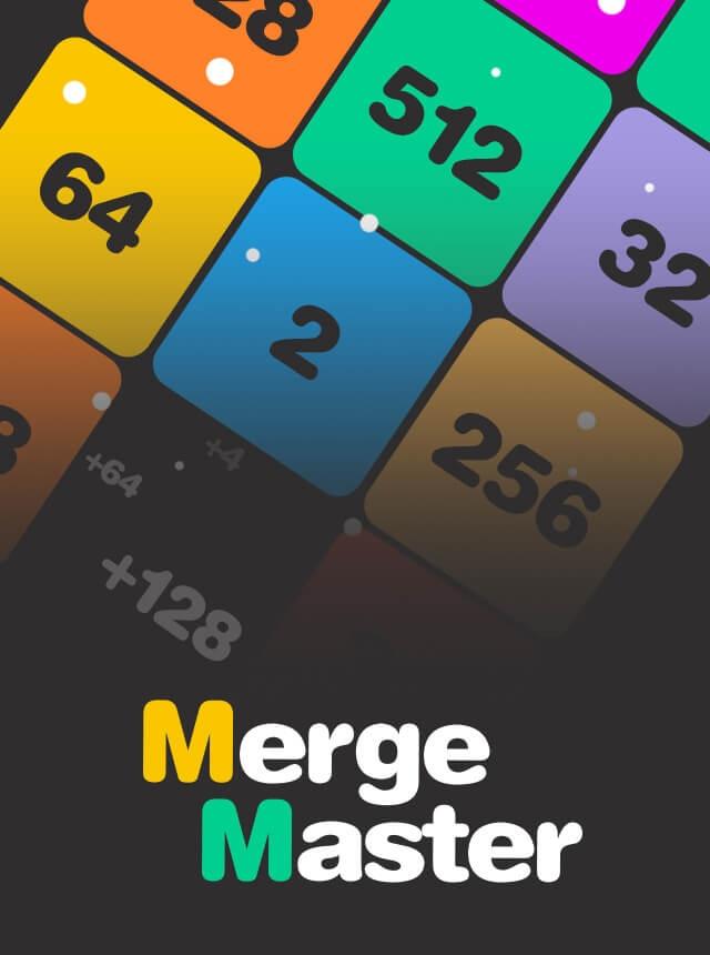 Merge Master-Number Merge Game